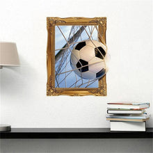 Load image into Gallery viewer, 2019 Russia 3D Soccer Pattern Wall Sticker