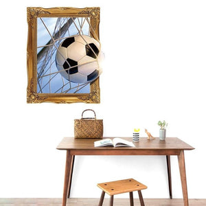 2019 Russia 3D Soccer Pattern Wall Sticker