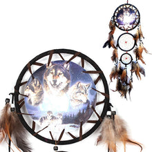 Load image into Gallery viewer, Handmade Dreamcatcher Wind Chimes