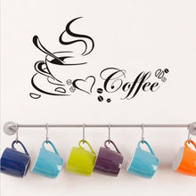 Load image into Gallery viewer, Art DIY Coffee Cup Heart Cafe Wall Sticker