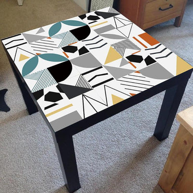 Geometric Table Decals