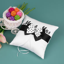 Load image into Gallery viewer, Mr & Mrs Flower Basket Set & Pillow