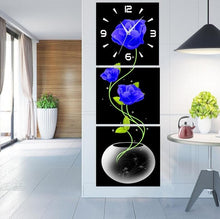 Load image into Gallery viewer, 5D DIY Diamond Painting Wall Clock