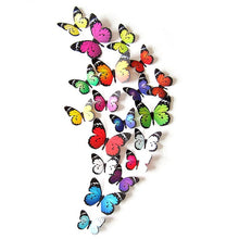 Load image into Gallery viewer, 3D Butterfly Sticker DIY Decal