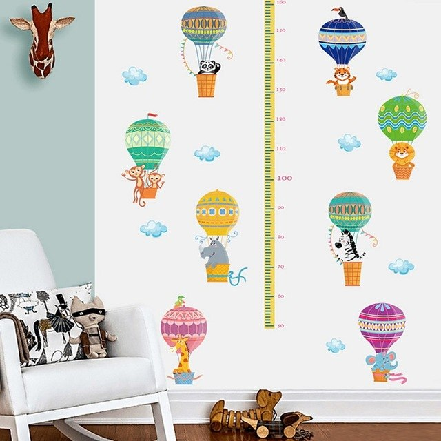 Jungle Animals Wall Art For Kids Room