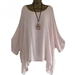 Stunning Loose Fit Plus Size Top/Blouse
