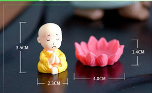 Monk Figurines Crafts