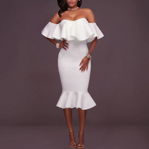 Off Shoulder Party Dress