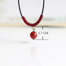 Load image into Gallery viewer, Handmade Bead Pendant