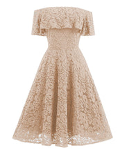Load image into Gallery viewer, Gorgeous Ruffle Lace Dress 2019