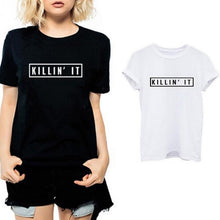 Load image into Gallery viewer, 2019 Summer New KILLIN'IT T-shirt