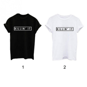 2019 Summer New KILLIN'IT T-shirt