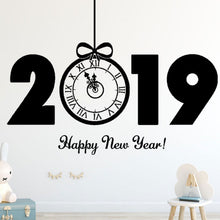Load image into Gallery viewer, 2019 Happy New Year Wall Sticker (Most Popular)