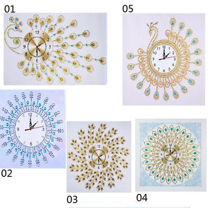 DIY Diamond Painting Wall Clock