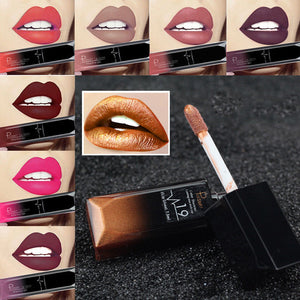New Women Waterproof Liquid Matte Lipstick Long Lasting Lip Gloss Makeup Beauty