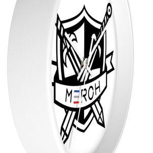 Marrow Merch Crest Wall clock