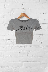 365 Signature Short Sleeve Crop Top