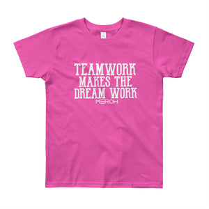 Youth Teamwork Short Sleeve T-Shirt