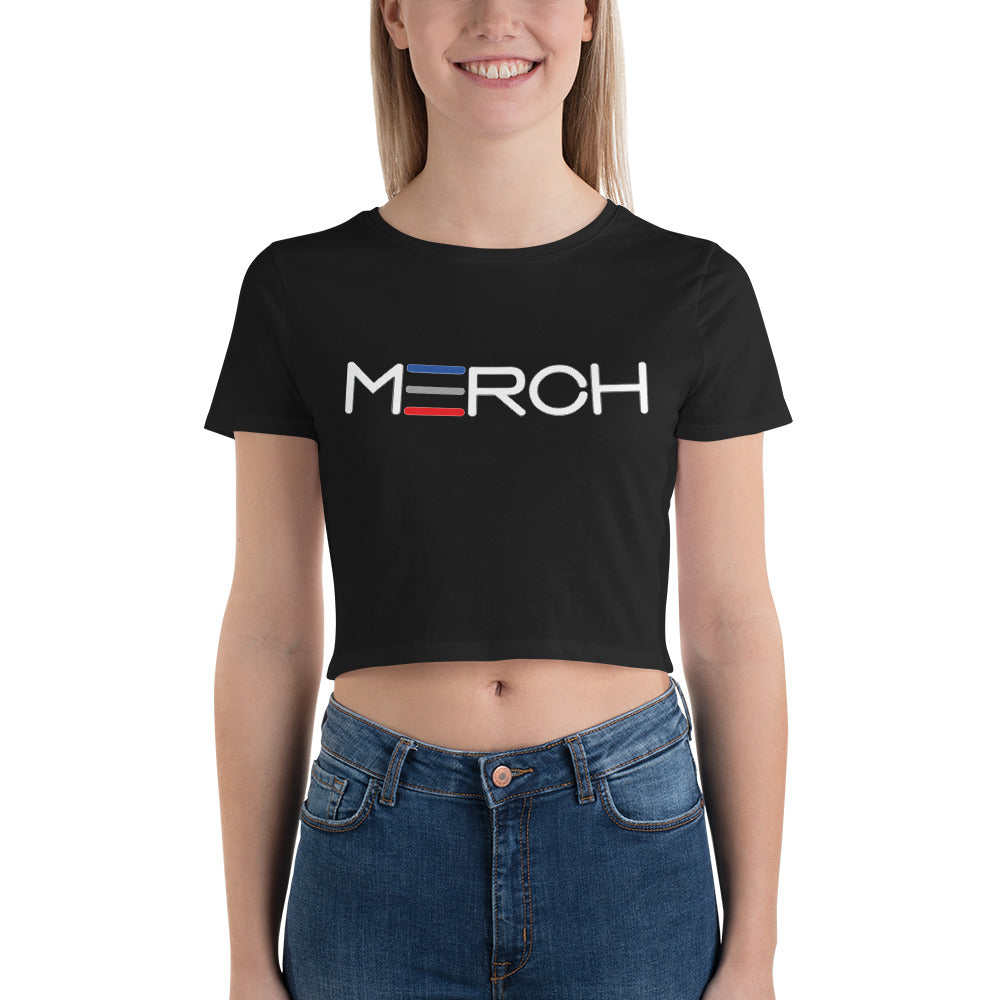 Women's Horizontal Marrow Merch Crop Tee