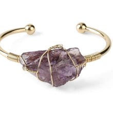 Load image into Gallery viewer, Crystal Quartz Cuff - Keyblee