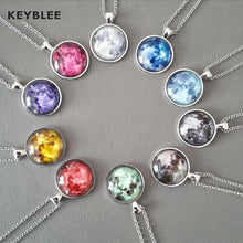 Load image into Gallery viewer, Lunar Necklace - Keyblee