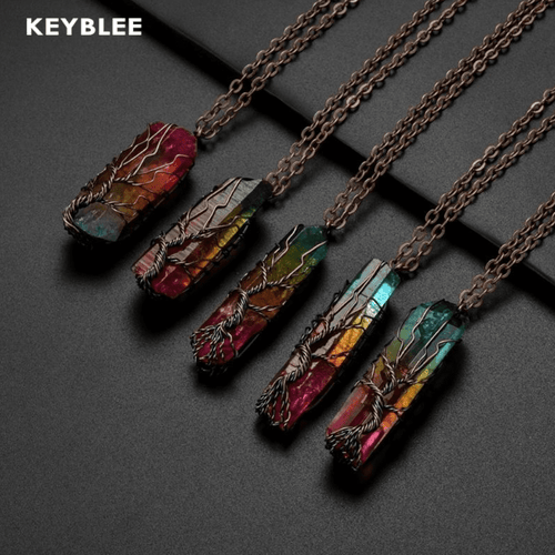 Stone Protective necklace - Keyblee