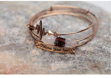 Load image into Gallery viewer, Follow Your Heart Bracelet - Keyblee