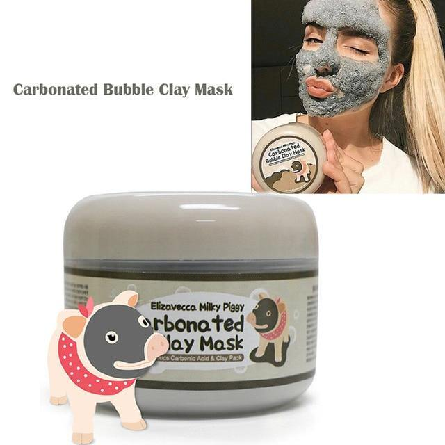 Carbonated Bubble Clay Mask - Keyblee