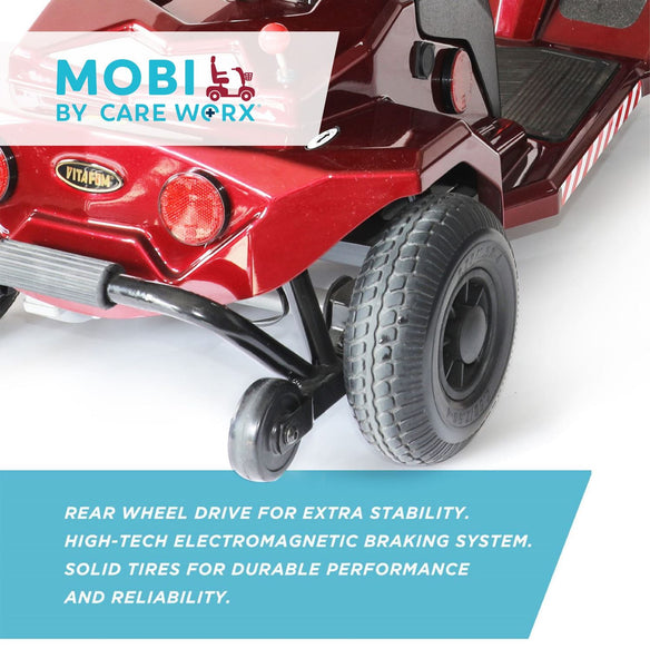 CARE WORX Mobi Electric Compact Mobility Scooter NEW