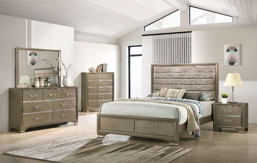 Logan Bedroom Set - Richicollection Furniture Warehouse
