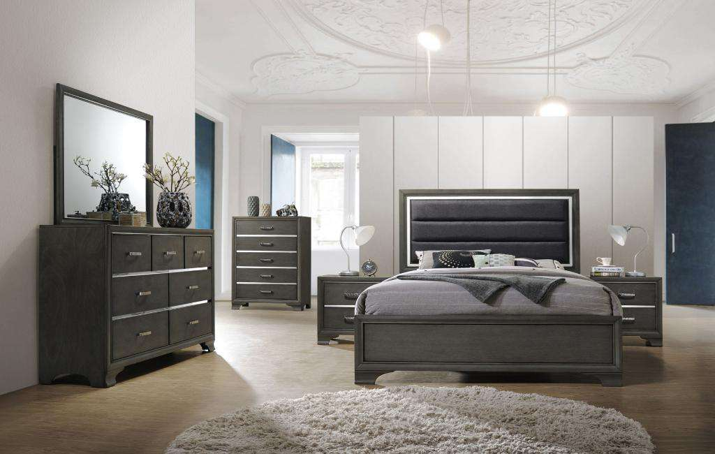 Paxton Bedroom Set - Richicollection Furniture Warehouse