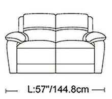 Load image into Gallery viewer, London Genuine Leather Sofa Set - Richicollection Furniture Warehouse