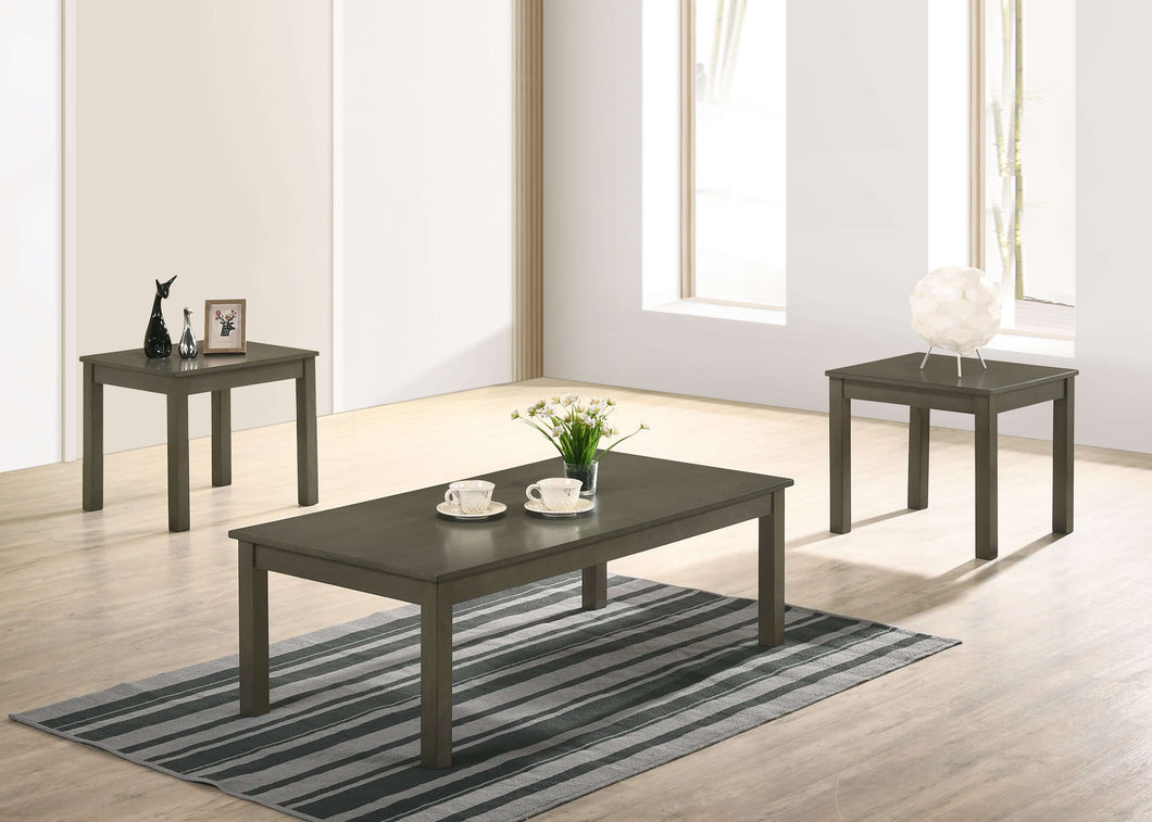 Sarah Coffee Table Set (GREY) - Richicollection Furniture Warehouse