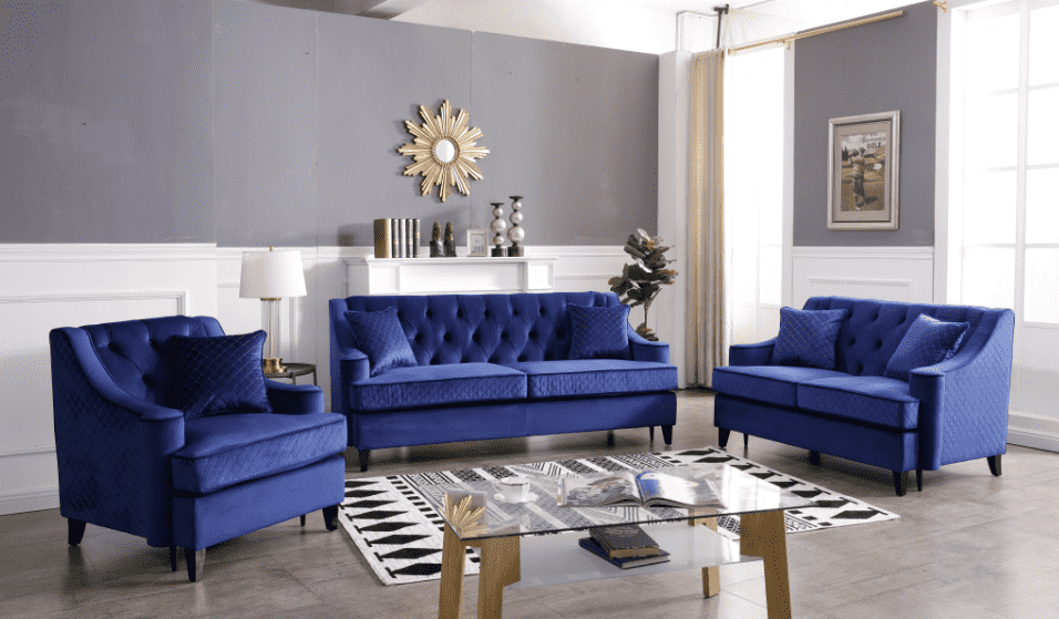 Reece Honore Sofa Set - Richicollection Furniture Warehouse