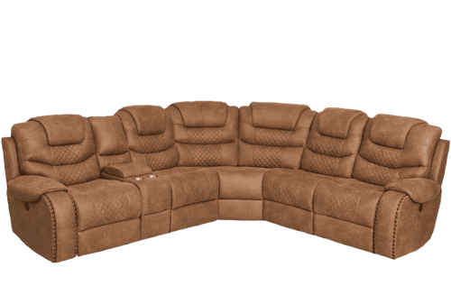 Montana Power Reclining Sectional - Richicollection Furniture Warehouse