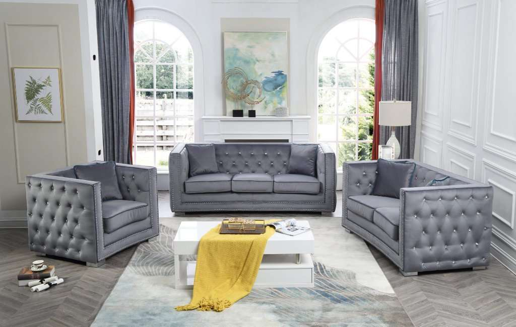 Reece Jewel Sofa Set - Richicollection Furniture Warehouse