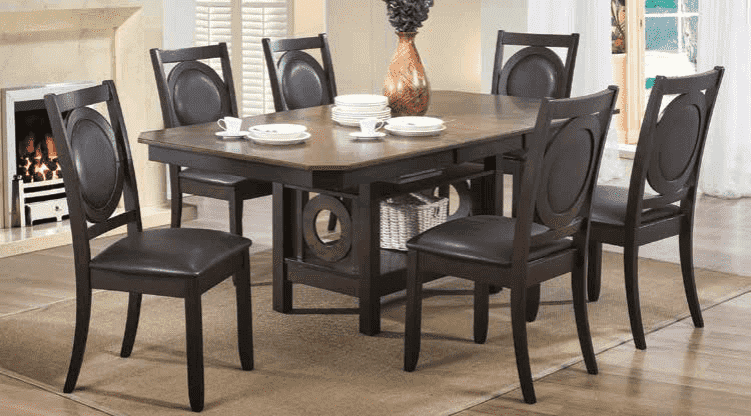 Charlotte Dining Table Set - Richicollection Furniture Warehouse