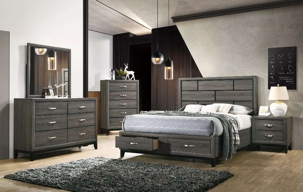 Sierra Bedroom Set - Richicollection Furniture Warehouse