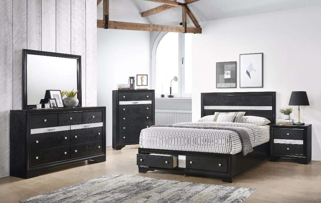 Oscar Bedroom Set - Richicollection Furniture Warehouse