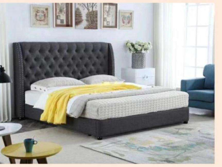 Tuscany Bed Frame (Fabric) - Richicollection Furniture Warehouse