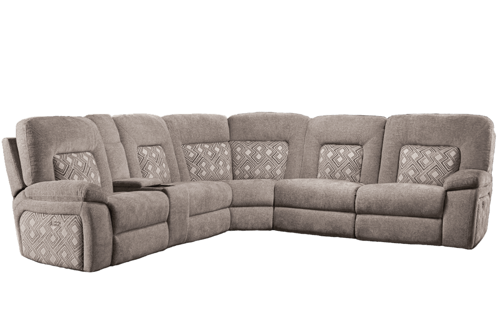 Houston Power Reclining Sectional - Richicollection Furniture Warehouse