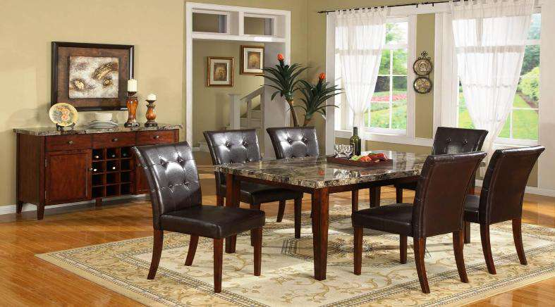 Mackenzie Dining Table Set - Richicollection Furniture Warehouse