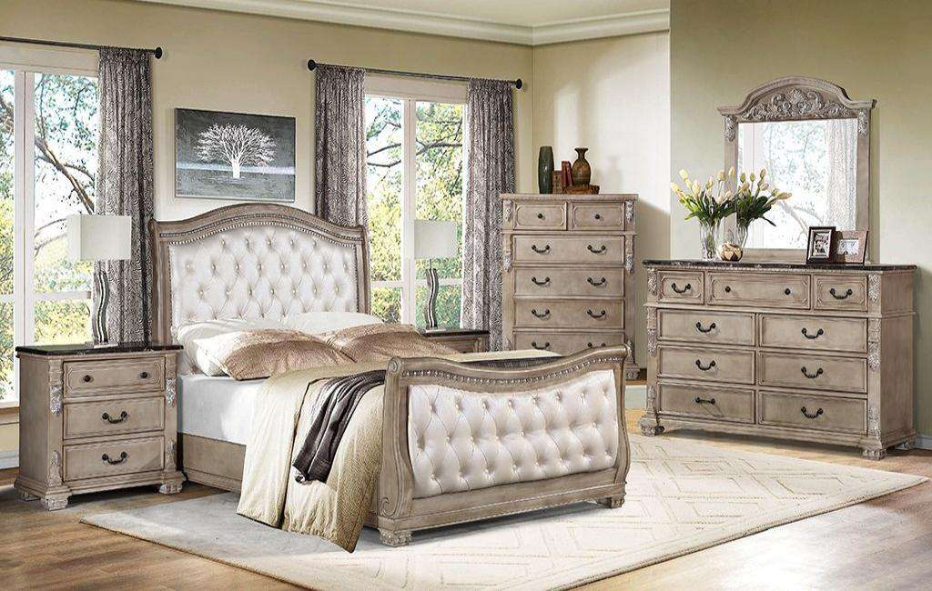 Napoleon Bedroom Set - Richicollection Furniture Warehouse