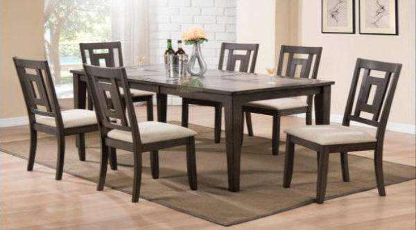 Brasseux Dining Table Set - Richicollection Furniture Warehouse