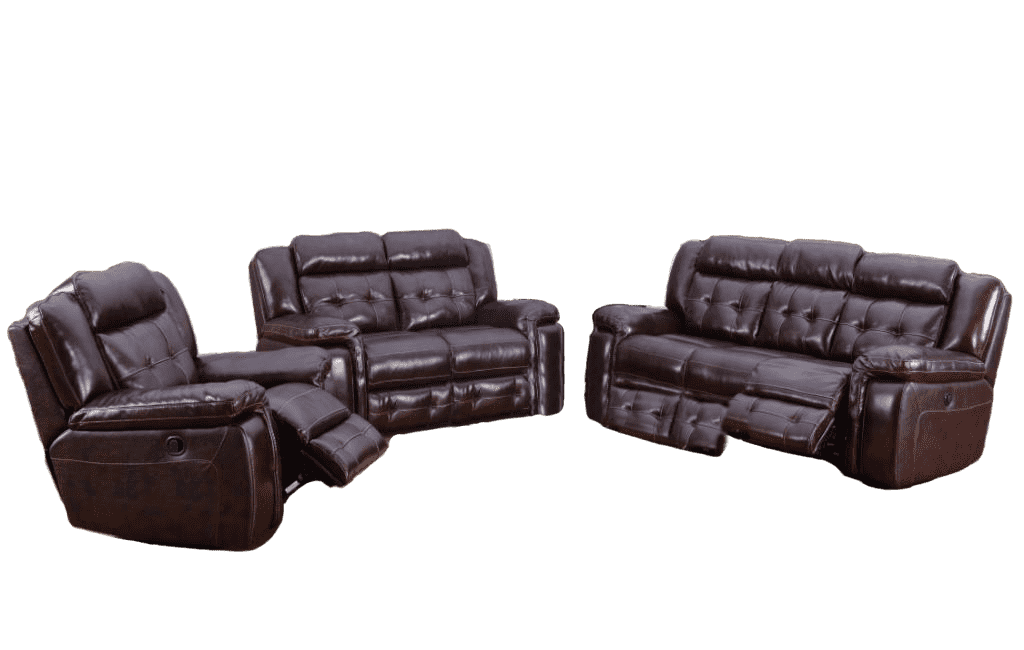 Georgetown Genuine Leather Sofa Set - Richicollection