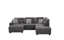 Load image into Gallery viewer, Cory Sectional with Storage Ottomans - Richicollection Furniture Warehouse
