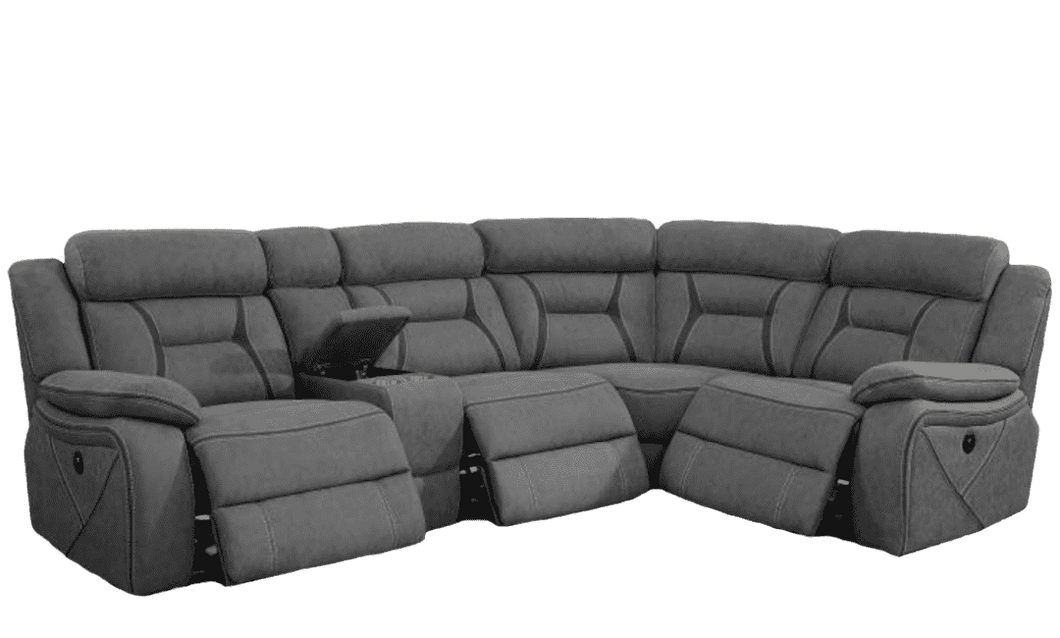 Savannah Reclining Sectional - Richicollection Furniture Warehouse