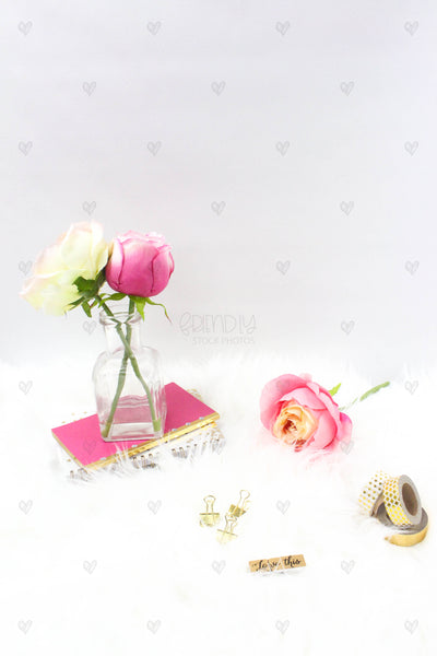 Pink Rose Product Mockups {14 Photos}