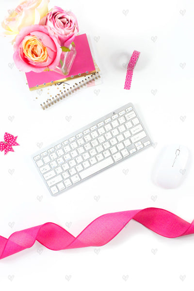 Rose Ribbon Product Mockups {14 Photos}