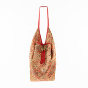 Bright Red | Jhola Bag